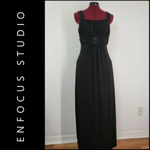 Enfocus Studio Woman Sleeveless Maxi Long Dress 10